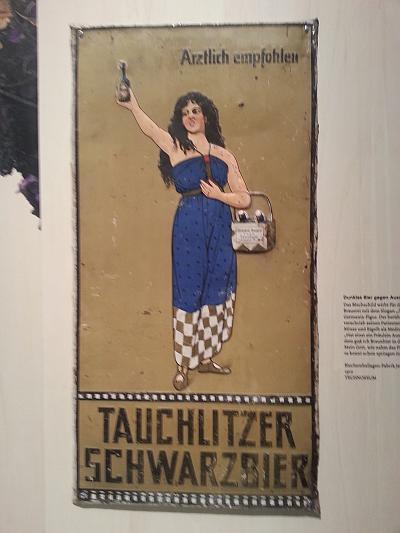 Aus der Austellung #bier500 des Technoseum Mannheim