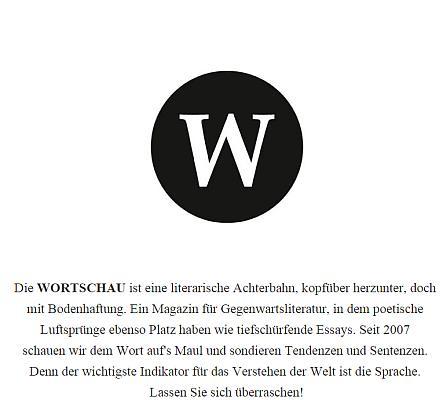 Screenshot von wortschau.com