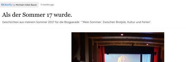 Storify exportieren und nach WordPress importieren.