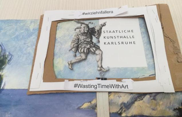 KK #WastingTimeWithArt